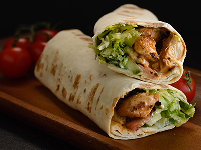 Chicken Tikka Quesadilla Roll